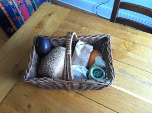 Granny's basket can carry