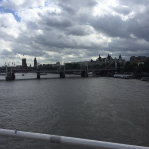 Grey skies over Westminster